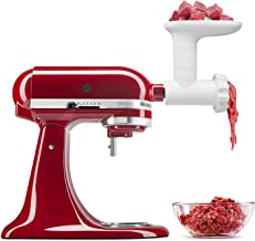 Antree Attachment for for KitchenAid Stand Mixers Meat Food Grinder, White