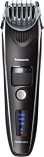 Panasonic Beard Trimmer for Men ER-SB40-K, Cordless/Corded Precision Power, Hair Clipper with Comb Attachment and 19 Adjustable Settings, Wet/Dry Use