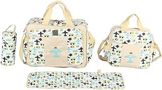 Mee Mee Multipurpose Diaper Bag (2-Piece Diaper Bag Set, Beige)