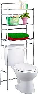 Tatkraft Tanken-Estanteria WC con estantes para baño, metal