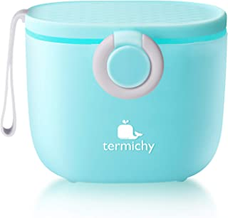 Termichy Baby Formula Dispenser, Portable Milk Powder Dispenser Container with Carry Handle and Scoop for T...