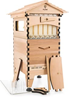 Official Flow Hive 2 Cedar 6 Frame - Langstroth Style Beehive Featuring Our Patented Flow Tech, Suitable for Beginners & Experienced Beekeepers