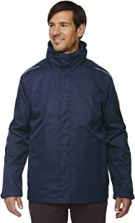 Core 365 Mens Journey Fleece Jacket Black 703,XXXX-Large 88190