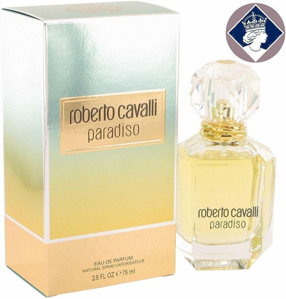 Roberto cavalli paradiso, eau de parfum,profumo da donna,75 ml 110597
