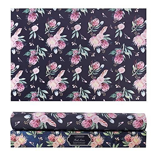 Scented Drawer Liners, 8 sheetsFresh Linen Fragrance Paper Liners for Shelves, Drawers,Dresser Shelf, Perfect for Kitchen, Bathroom, Long-Lasting Home Fragrance, 16.53