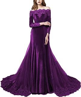 Best long lace evening dresses Reviews
