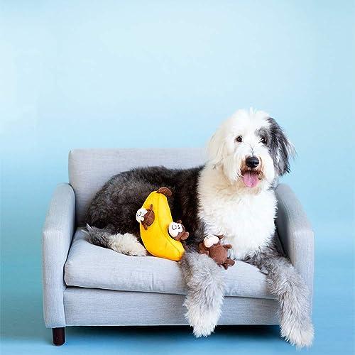ZippyPaws Zoo Friends Burrow Interactive Dog Toys