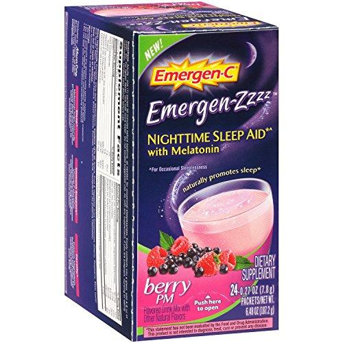 Top 10 Best emergen zzzz nighttime sleep aid Reviews