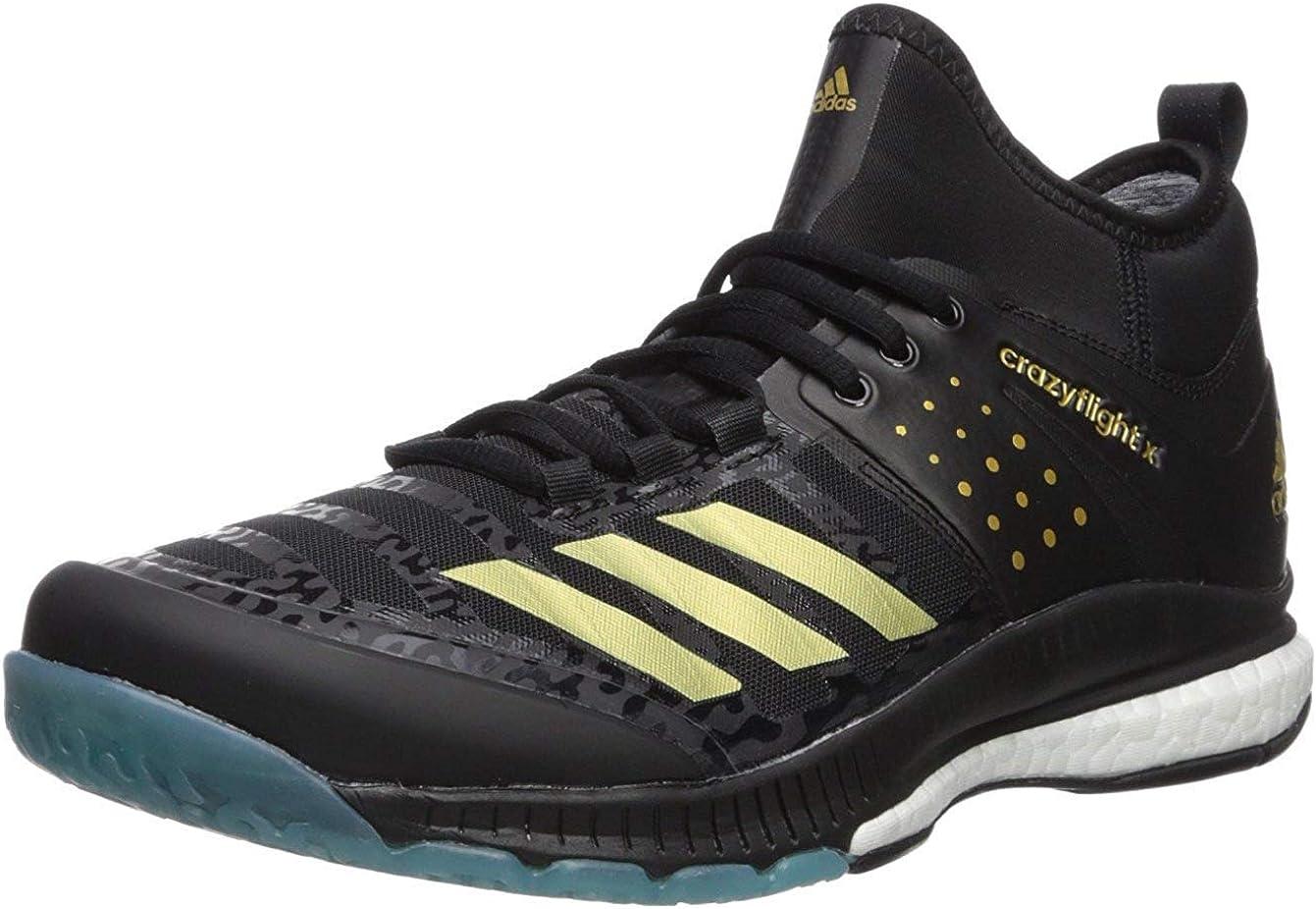 adidas Unisex-Adult 日時指定 Crazyflight X Shoe 宅配便送料無料 Volleyball Mid