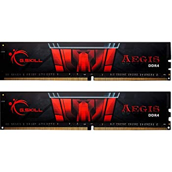 GSkill F4-3000C16D-16GISB Memoria RAM da 16 GB, (2 x 8 GB) DDR4, 3000 MHz, CL16, Nero