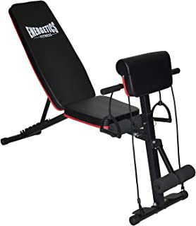 Energetics Multi-Function Incline Decline Weight Bench & Preacher Arm Curl Bench