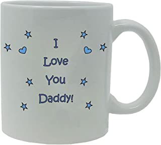 I Love you Daddy Coffee Mug with Gift Box - Expecting Daddy, Father's Day, World's Best Daddy
