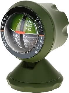 Dilwe Car Inclinometer, Multifunction Level Tilt Gauge Indicator Gradient Angle Slope Meter Balancer Tool Cars Accessory