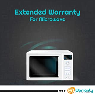 GoWarranty : Extended Warranty for Microwave (Range INR 5001 - INR 15000) - (4 Year Warranty)