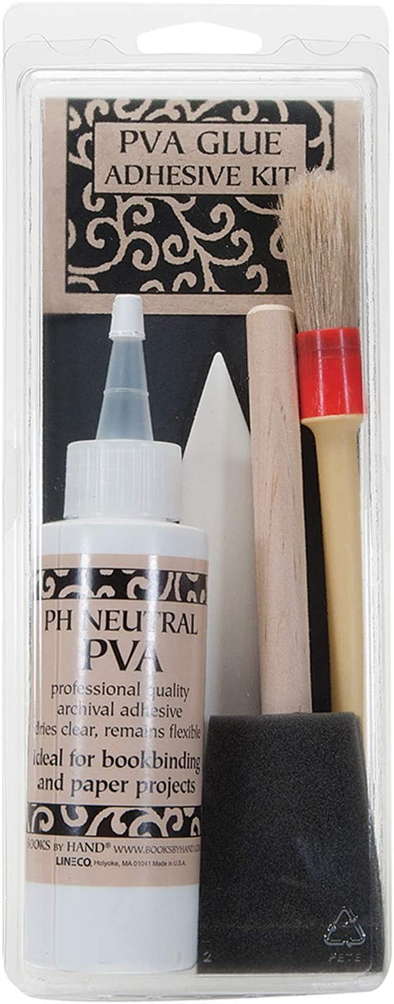 Books By Hand All items free shipping Archival PVA Glue Bookbinding Sc Special price for a limited time Adhesive Kit for