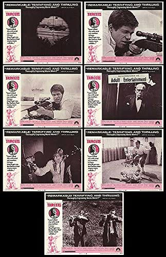 Targets - Authentic Original 14x11 Lobby Cards At the price of surprise Movie specialty shop Of Set