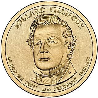 millard fillmore dollar coin 2010 d