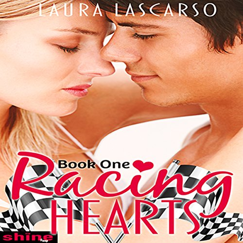 Racing Hearts audiobook cover art