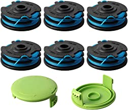Thten Trimmer Spool Replacement for Greenworks 29242 29082 27ft 0.065 inch with Greenworks 21052 29272 and 21212 Dual line 0.062