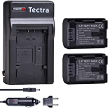 Tectra 2-Pack BN-VG114 Battery and Charger Kit for JVC Everio GZ-E10 GZ-E100 GZ-E200 GZ-E300 GZ-E505B GZ-E515B GZ-EX250 GZ-EX310 GZ-EX355B GZ-EX555B GZ-GX1 GZ-HD500B GZ-HM300B GZ-HM550B GZ-MS110B