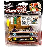 Unbekannt Grip & Tricks F-SOPACK3 Finger Skate SKER G...