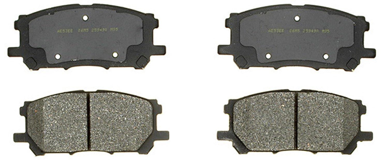 ACDelco 17D1005M Professional Semi-Metallic Front Disc Brake Pad Set