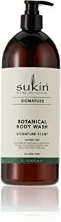Sukin Signature Botanical Body Wash with Pump, 1 L