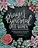 Best Devotional For Women - Prayer Journal for Women: 52 Week Scripture, Devotional Review