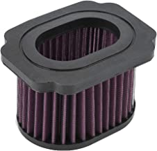 KIMISS Engine Air Purifier Filter Cleaner Fit for Yamaha MT-07 FZ-07 XSR700 689 2016 (ABS + Filter Paper)