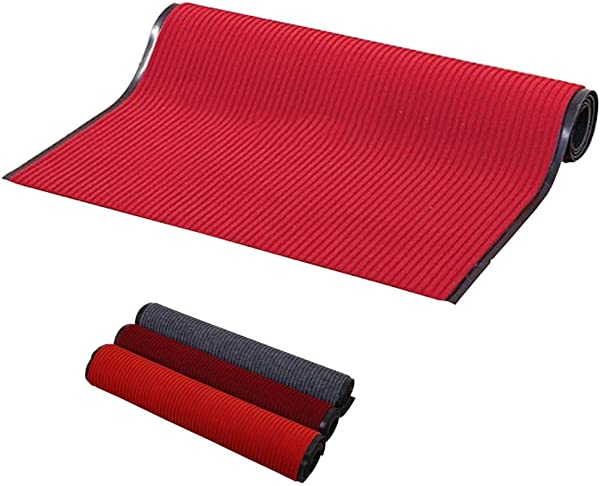 Red Carpet Party Kitchen Rugs Non Skid Washable For Mall Hotel Water Welcoming Commercial Mats 1m 2m 3m4m 5m Color Dark Red Size 2x3m 3x10ft