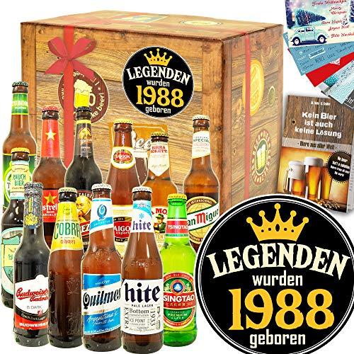 Legenden 1988-12 Biere aus aller Welt - Geschenktipps für Ihn