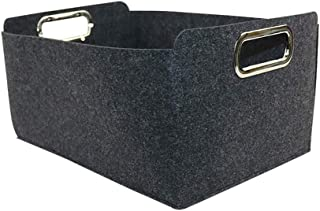 Lpiotyucwh Paniers et Boîtes De Rangement, Panier de Rangement Pliable Grey Feet Tissu Tissu Organisateur Boîte de Rangeme...