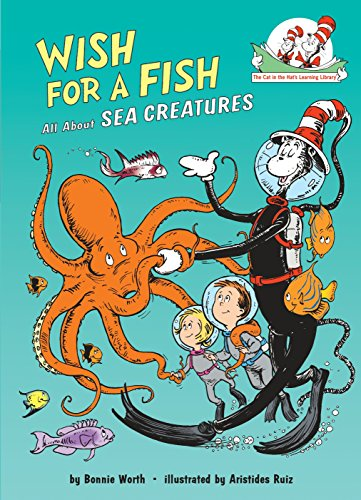 Wish For A Fish: All About Sea Creatures Cat in the