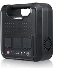 floureon 220Wh Portable Power Generator,Power Station Home Solar Generator Lithium Battery Backup Power Supply with 120V/300W 2 AC Outlets/4 USB Ports/for Outdoors Camping Fishing Emergency