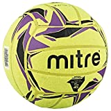 Mitre Cyclone Ballon de football indoor Jaune/Noir/Violet Taille 5
