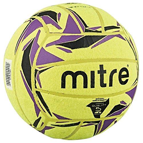 Mitre Cyclone Ballon de football indoor Jaune/Noir/Violet Taille 5