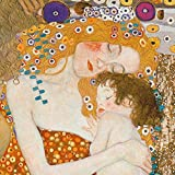 yiyiyaya Gustav Klimt Best Painting Wall Art Canvas Painting Posters Prints Modern Painting Wall Pictures For Living Room Home Decoration 50x50cm