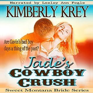 Jade's Cowboy Crush audiobook cover art