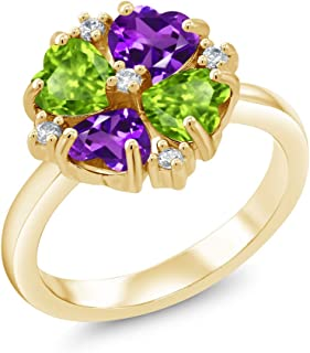 purple peridot gemstone