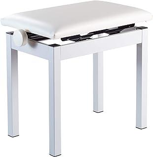 KORG ピアノ用 高低自在椅子 PC-300 WH ホワイト
