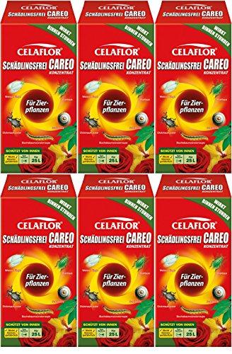6 x 250 ml Celaflor Schädlingsfrei Careo Konzentrat