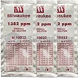 Milwaukee 3X 20ml 1382 ppm TDS Calibration Solution Sachet, M10032B M 10032