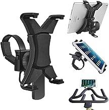Soporte Universal para Tablet y Bicicleta – Seguro, Soporte para Tableta para Gimnasio, Ejercicio, Bicicleta, Cinta de Correr – rotación de 360 ° para ángulo de visión Ajustable