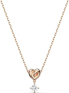 Women's Lifelong Heart Crystal Jewelry Collection, Rose...