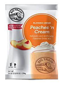 Big Train Blended Creme Mix, Peaches 'n Cream, 3.5 Pound