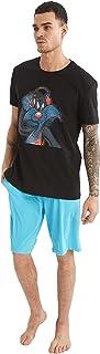 Space Jam 2 Lisanslı Sylvester Baskılı Regular Fit Pijama Takımı