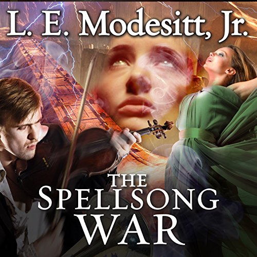 The Spellsong War     Spellsong Cycle, Book 2              By:                                                                                                                                 L. E. Modesitt Jr.                               Narrated by:                                                                                                                                 Amy Landon                      Length: 22 hrs and 31 mins     10 ratings     Overall 4.5