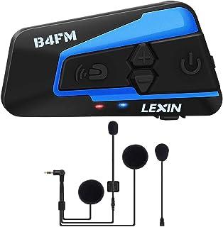 comprar comparacion LEXIN B4FM Intercomunicador Casco Moto, Moto Bluetooth Radio Comunicador para Casco, Manos Libres para Moto, Intercom Casc...