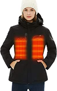 [2020 Upgrade] Women's Heated Jacket with Battery Pack...