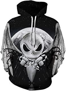 Unisex Fashion 3D Digital Galaxy Pullover Hooded Hoodie Sweatshirt Athletic Casual with Pockets
